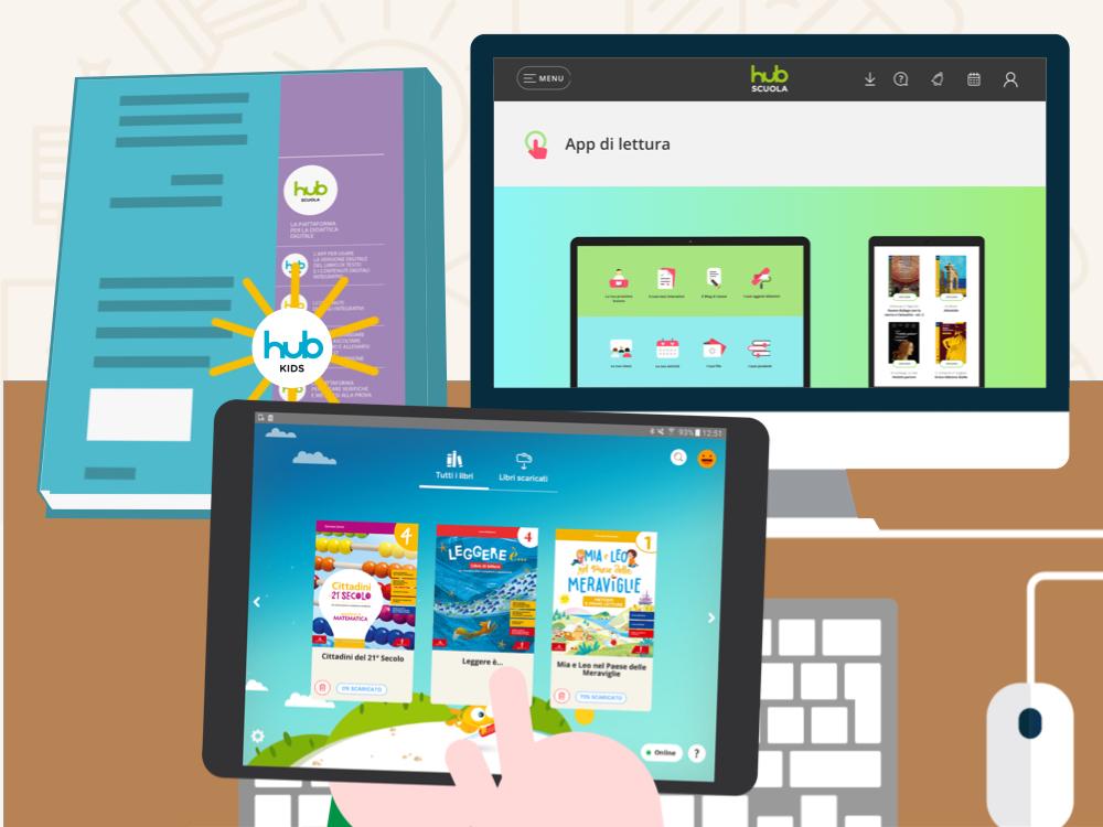 Con l'App puoi consultare il tuo libro digitale anche offline, scaricandolo per intero o in singoli capitoli