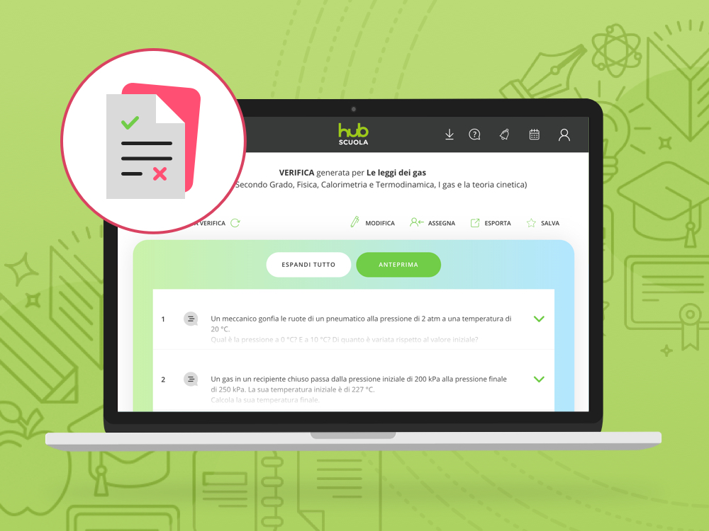 HUB Test: verifiche personalizzate e autocorrettive