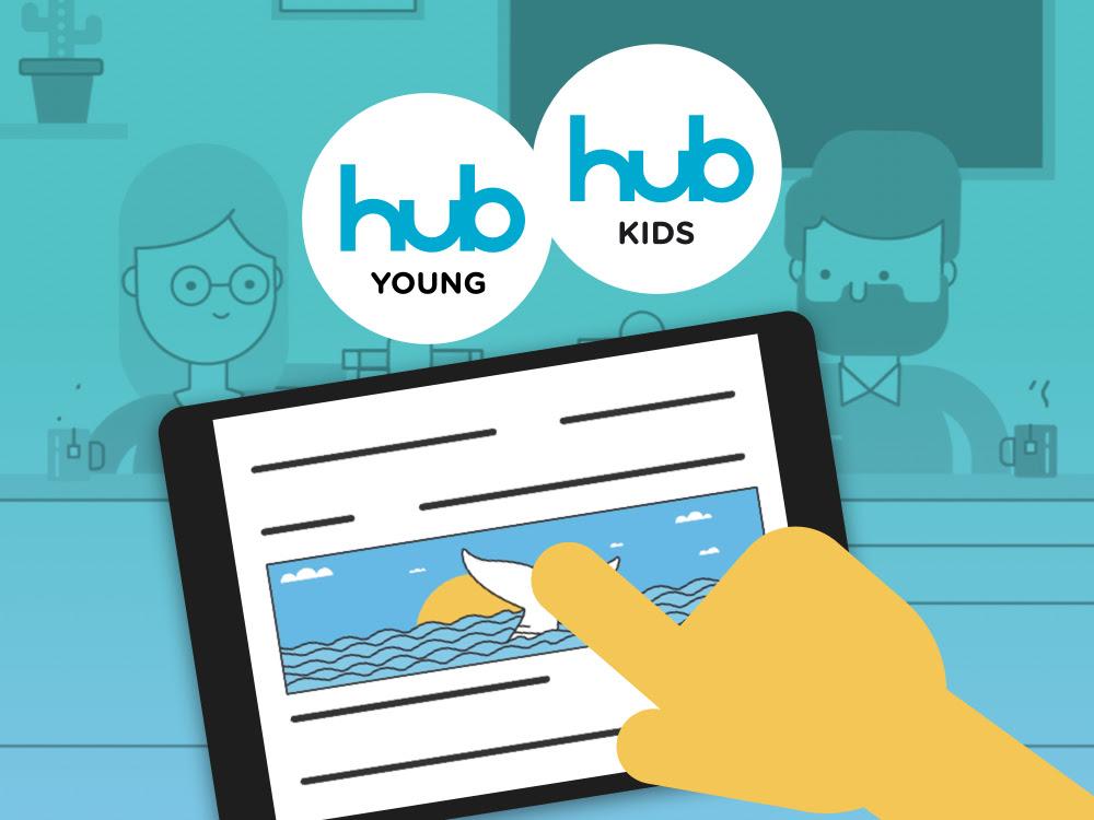 HUB Kids e HUB Young