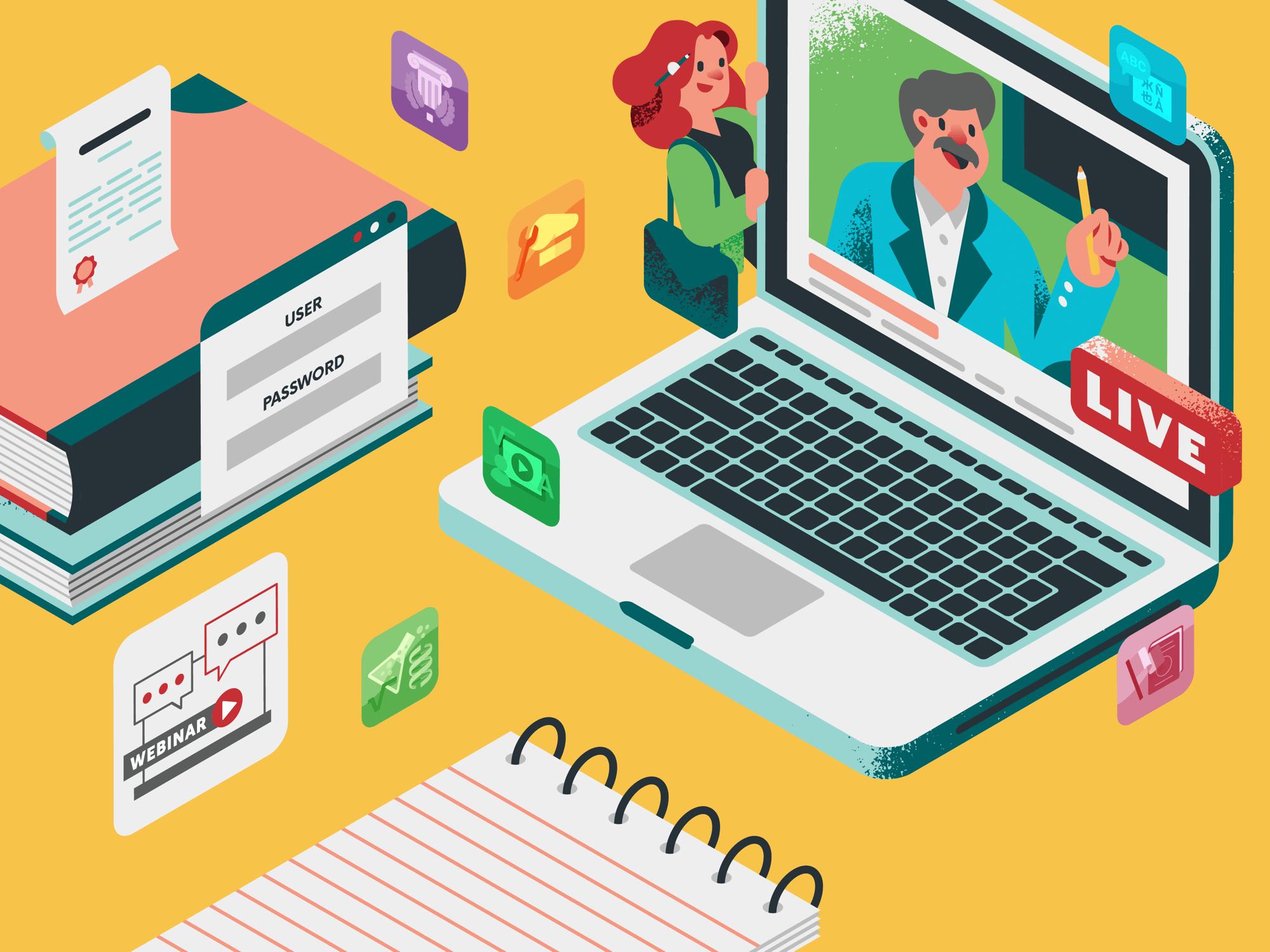 Webinar: la formazione online