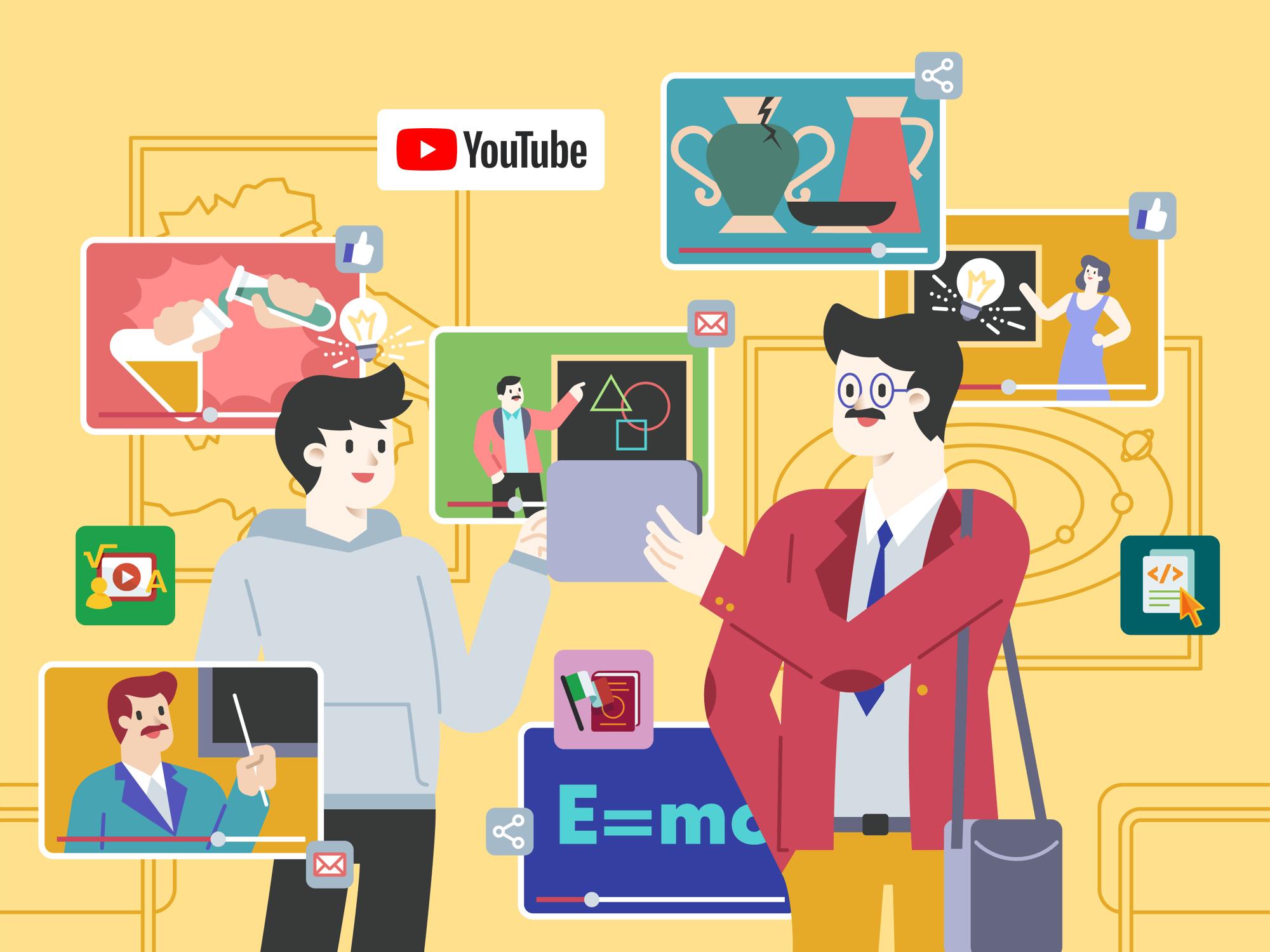 Canale YouTube di HUB Scuola