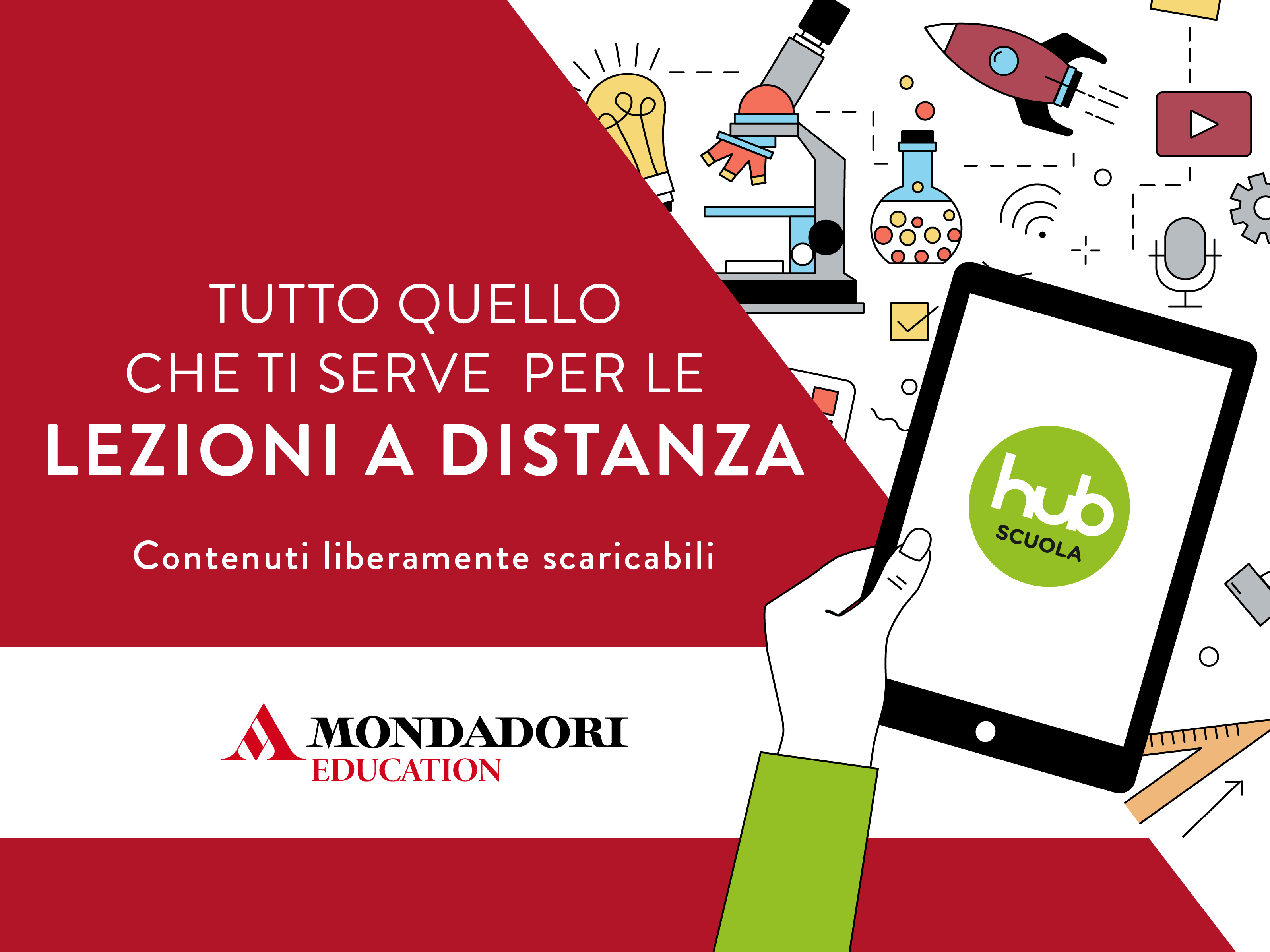 Contenuti digitali liberamente scaricabili di Mondadori Education