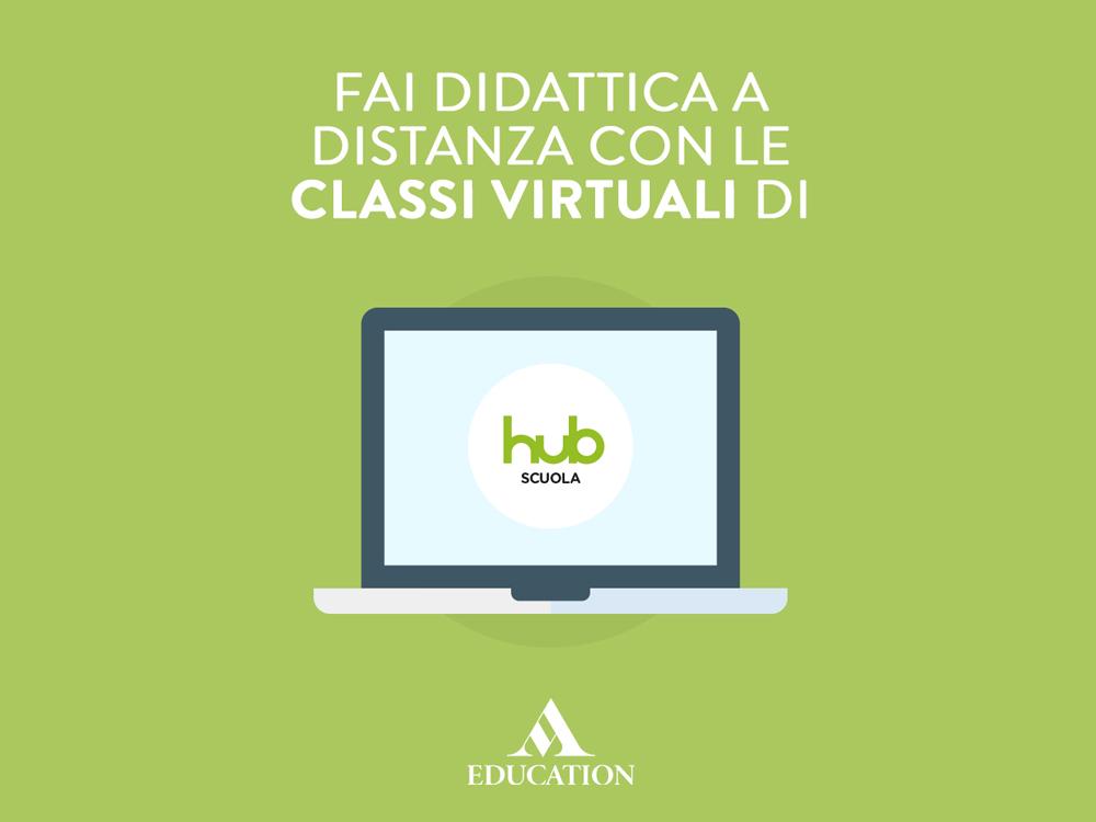 Didattica digitale?HUB Scuola ti è vicina!
