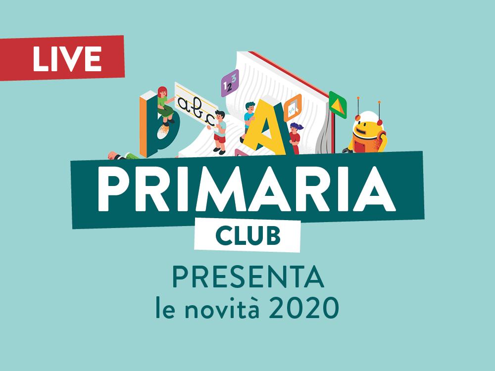 Primaria Club presenta le novità 2020!