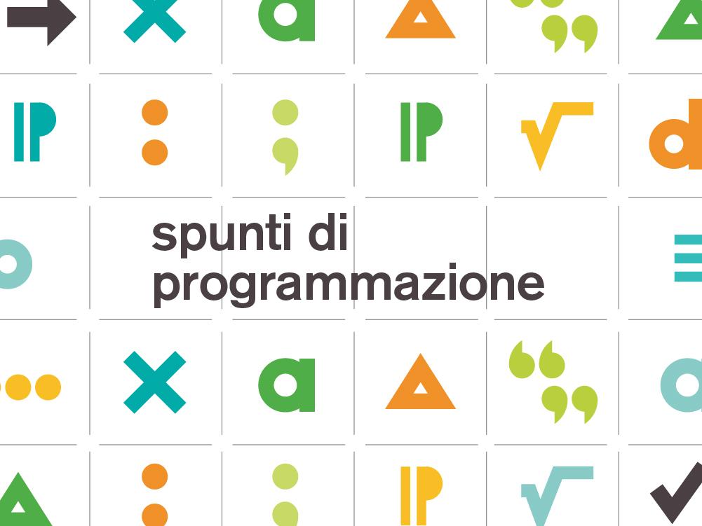 Spunti di programmazione