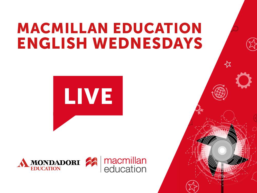 Gli English Wednesday in collaborazione con Macmillan Education