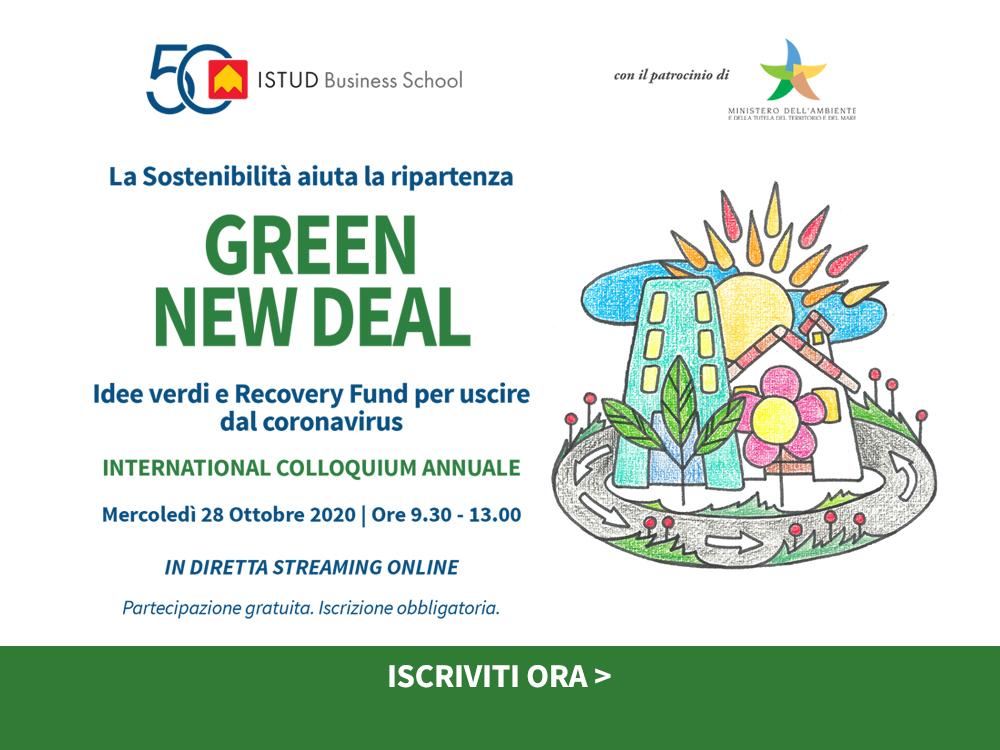 Partecipa al Green New Deal 2020
