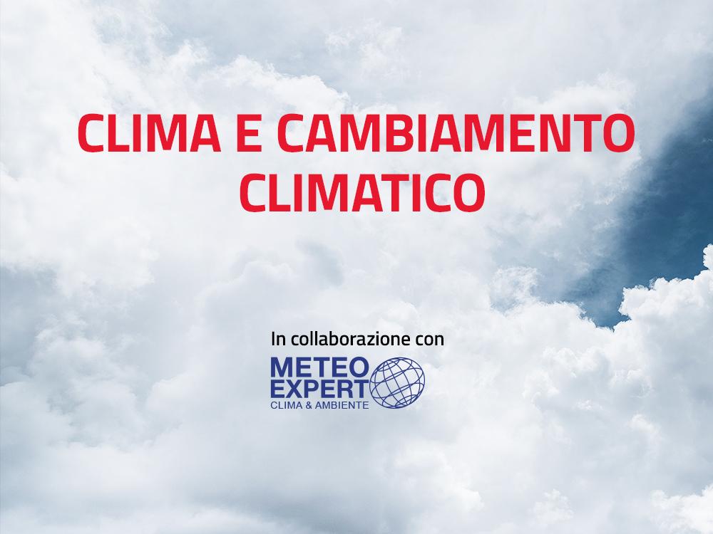 Clima e cambiamento climatico con Meteo Expert
