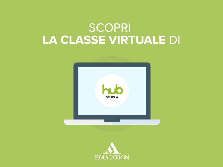 La classe virtuale di HUB Scuola