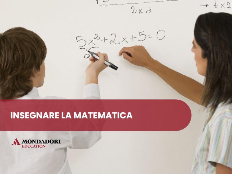 Insegni anche matematica?