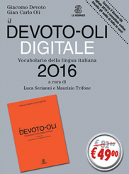 il DEVOTO-OLI DIGITALE 2016
